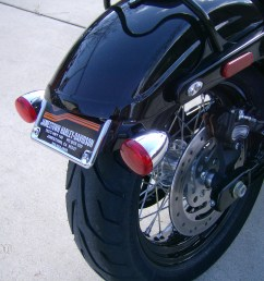 license plate relocation 2010 dyna wide glide olde biker s blog bob front turn signal wiring as well as turn signal relocation kit [ 2800 x 2128 Pixel ]