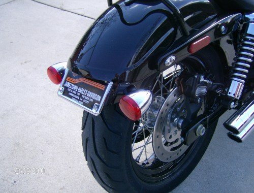small resolution of license plate relocation 2010 dyna wide glide olde biker s blog bob front turn signal wiring as well as turn signal relocation kit