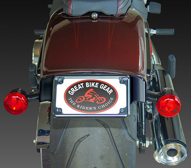 Harley Fatboy License Plate Relocation Get Free Image
