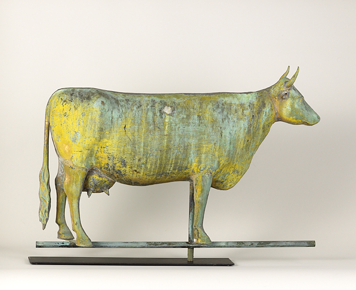 Large Cow Weathervane SOLD  Olde Hope Antiques