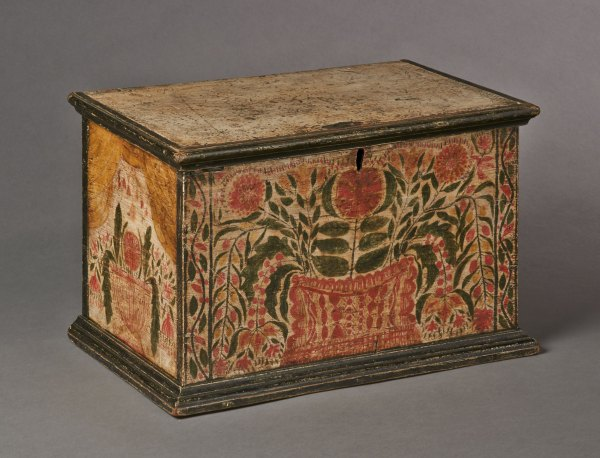 Profusely Decorated Valuables Box Sold Olde Hope