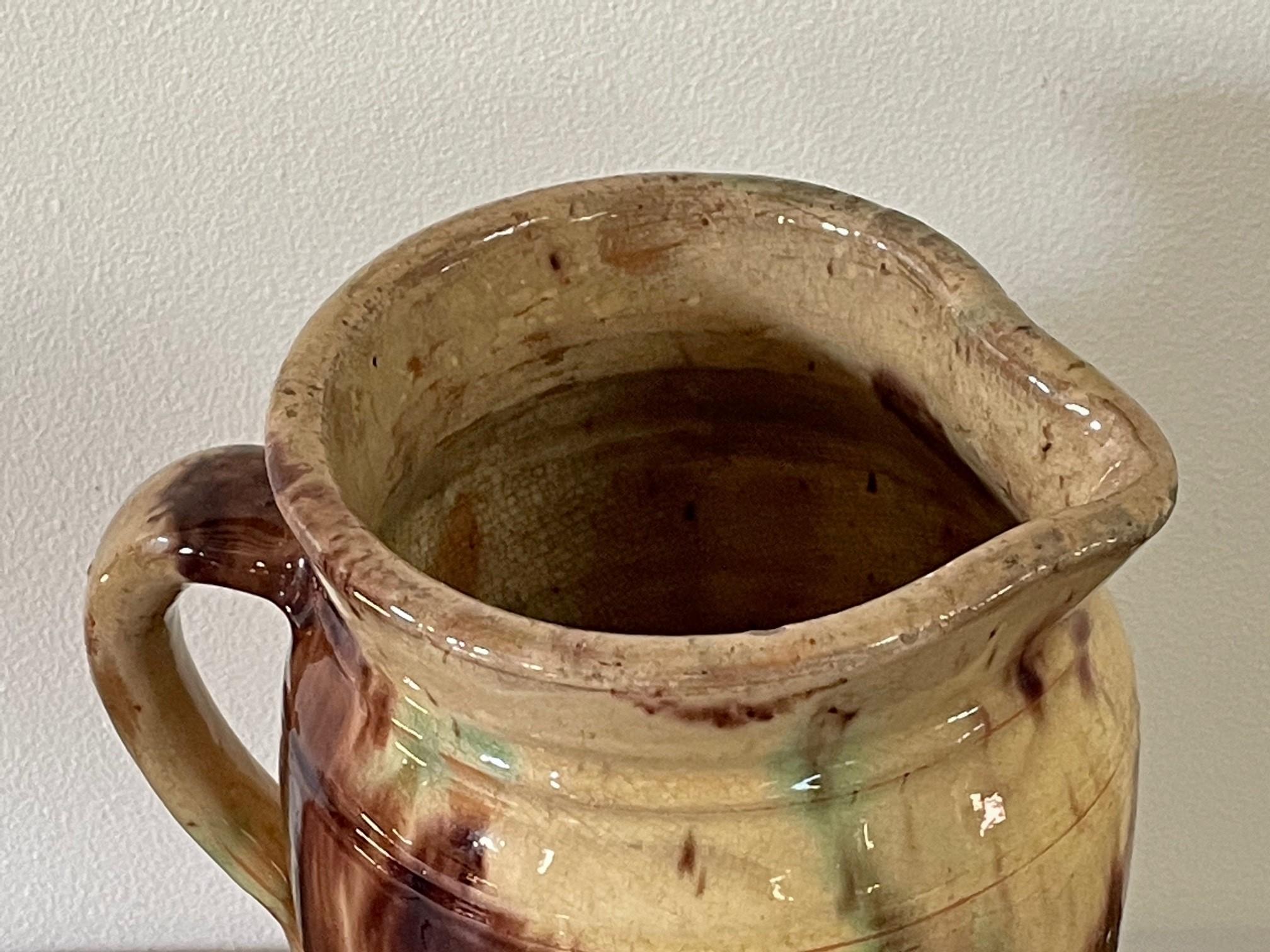 Shenandoah Valley redware pitcher rel=