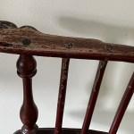 comb-back windsor armchair