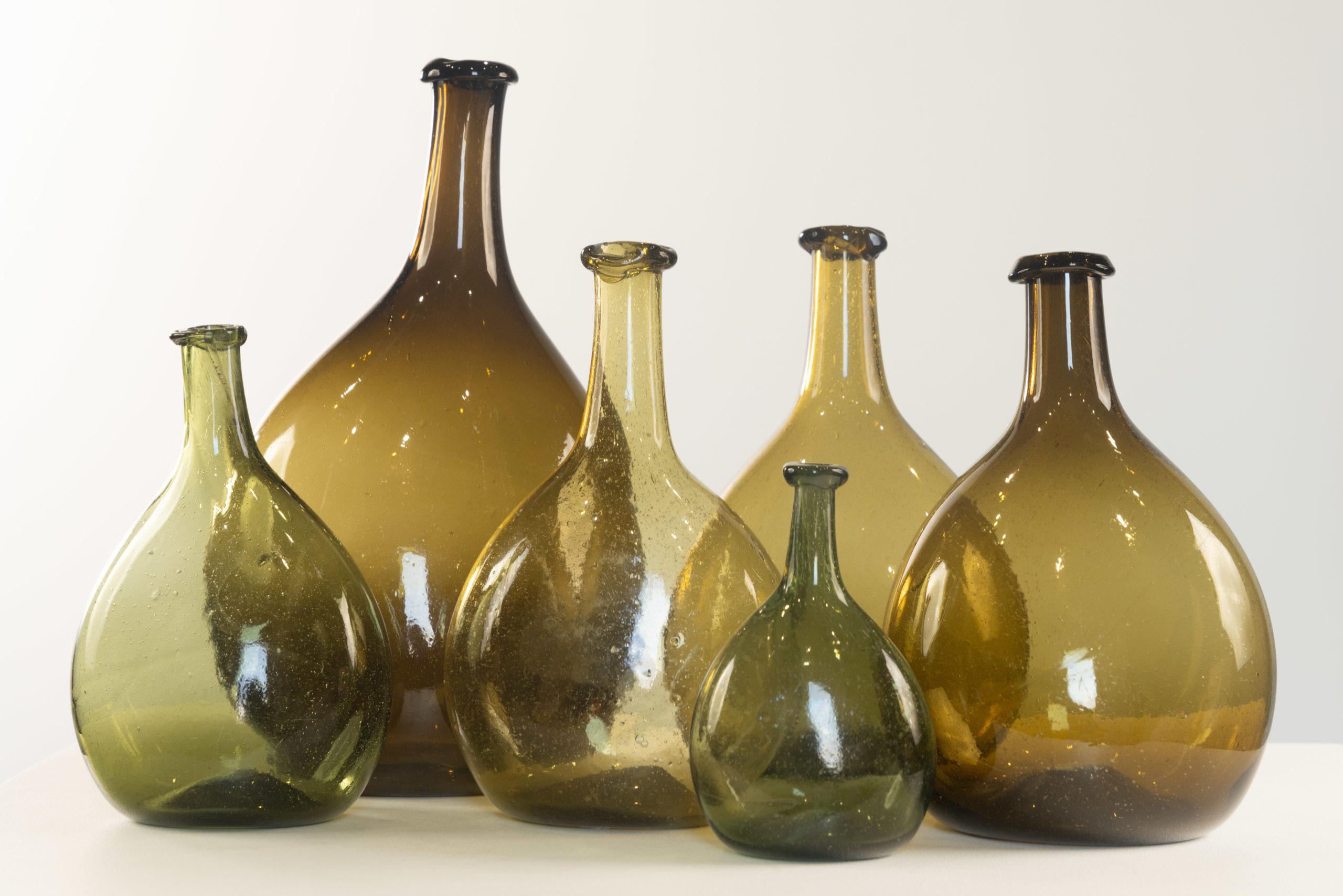american glass chestnut bottles rel=