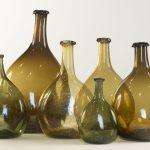 american glass chestnut bottles