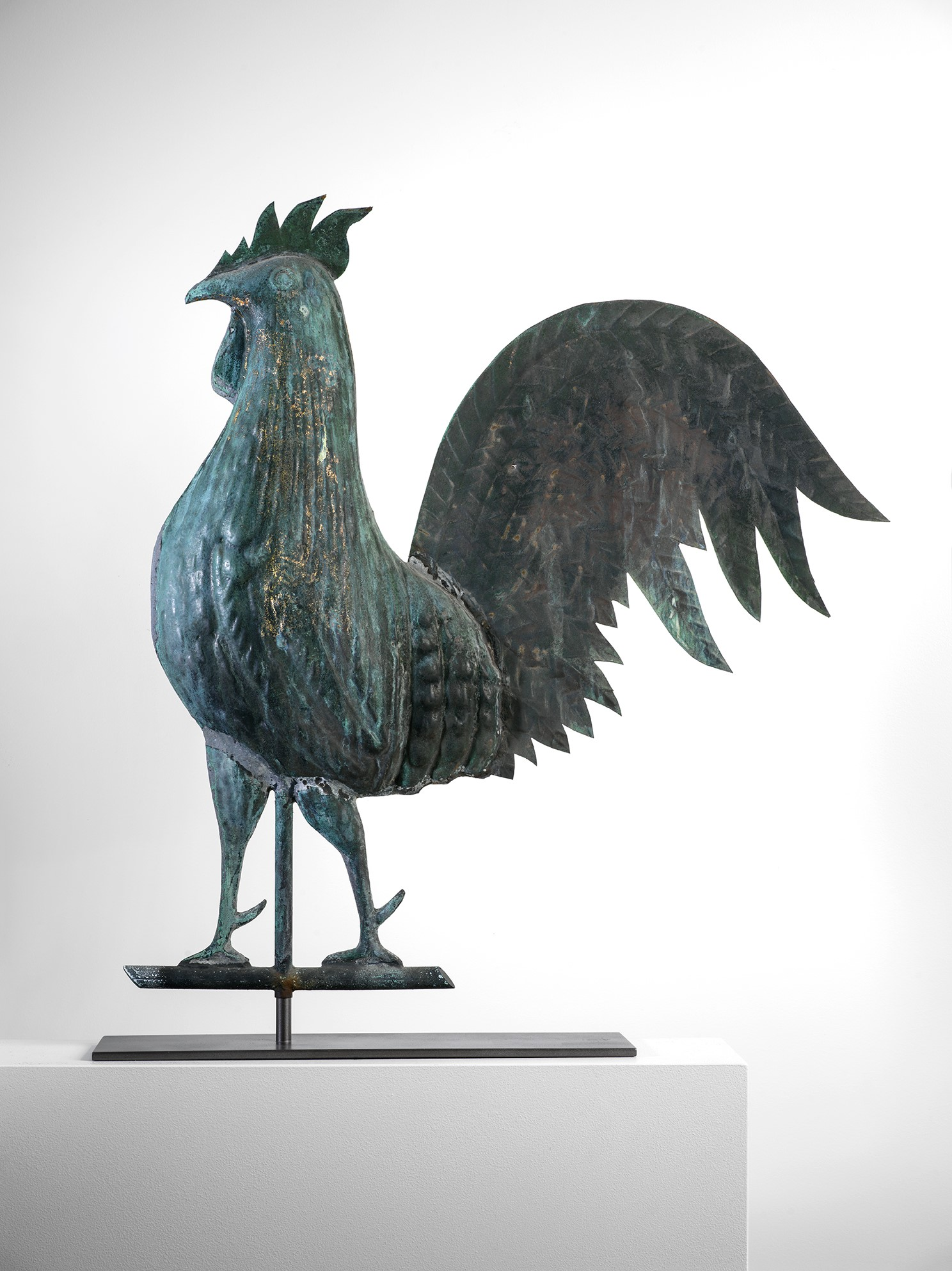 American antique rooster weathervane rel=