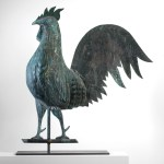 American antique rooster weathervane