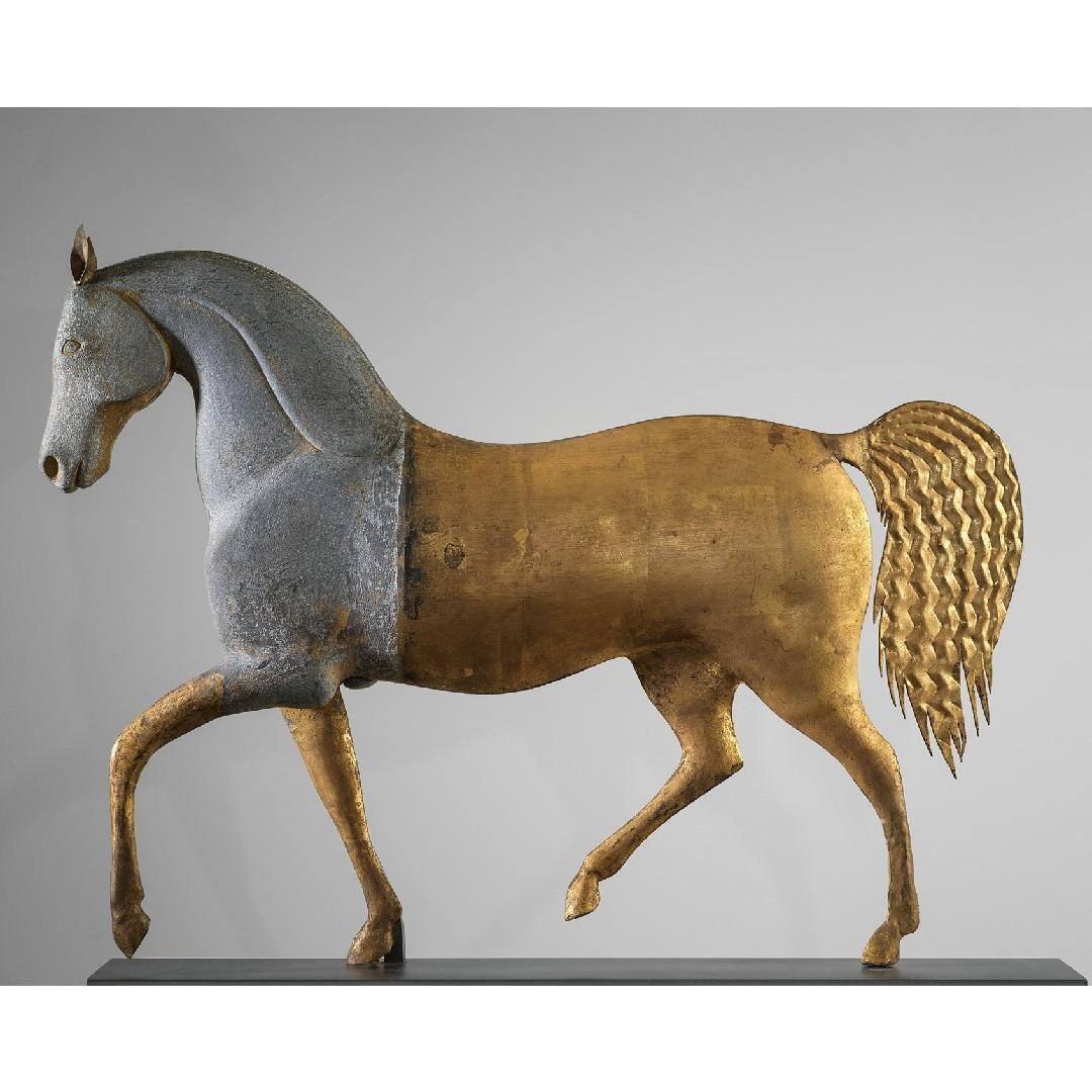 antique index horse weathervane rel=