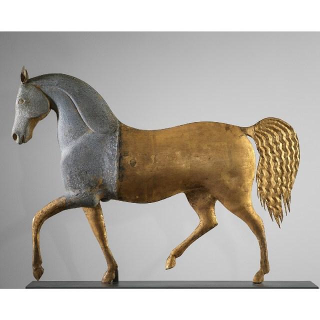 antique index horse weathervane