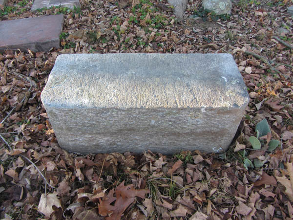 Victorian Granite Carriage Step