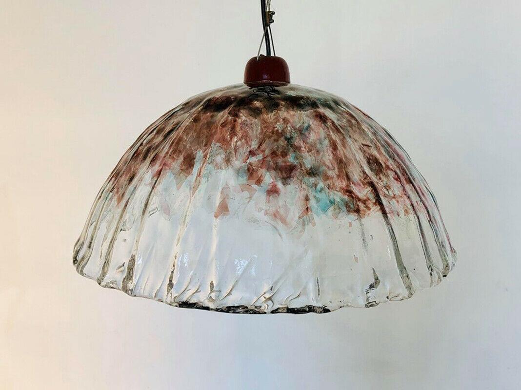 Il lampadario è in ottime condizioni ma può mostrare lievi tracce. Lampadario Vetro Di Murano Design Anni 60 Old Era