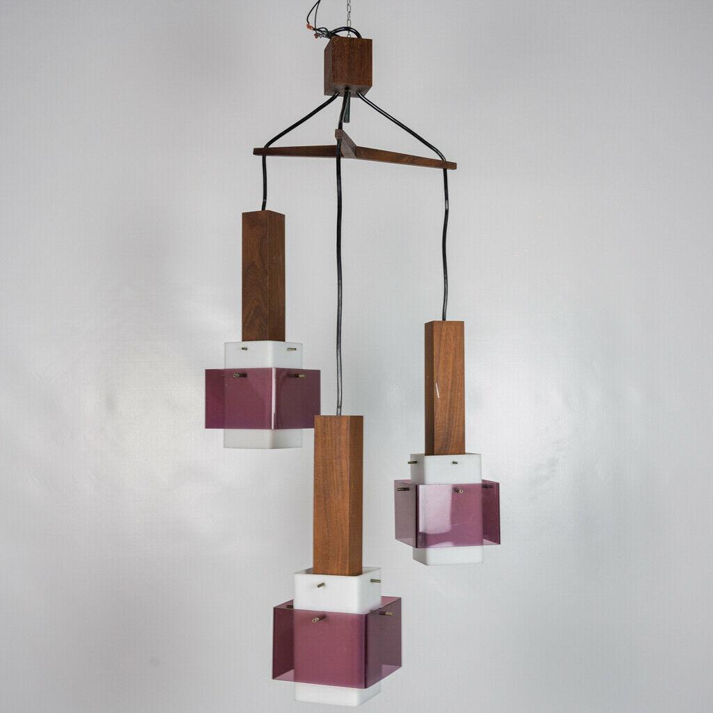 Lampada da terra iguzzini design anni '70 '80 guzzini vintage. Lampadario 3 Luci Harvey Guzzini Design Anni 60 Vintage Modernariato Old Era