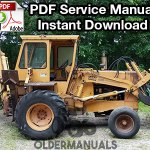 Case 680CK-B, 680CK-C Tractor Loader Backhoe Service Manual