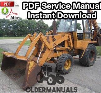 Case 780 Tractor Loader Backhoe Service Manual