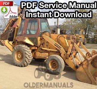 Case 680K Tractor Loader Backhoe Service Manual