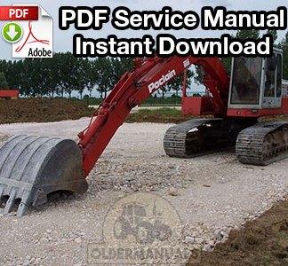 Poclain 75C, 90C Excavator Service Manual