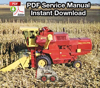 Sperry New Holland 975 Combine Service Manual