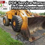 Case W36 Wheel Loader Service Manual (PIN 1775399 & Below)