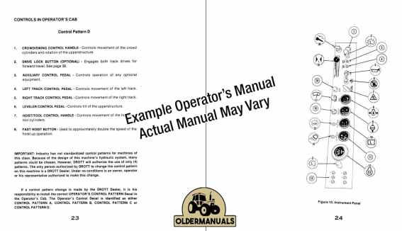 Oldermanuals.com Operator's Manual PDF Download Sample Pages