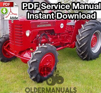 1958-1968 International B275 Tractor Service Manual