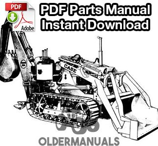 Case 310, 310B, 310C Crawler Tractor Service Manual