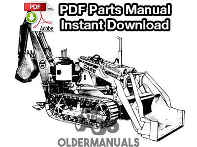 Case 210, 210B, 310, 310B, 310C Tractor Service Manual