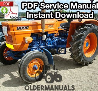 Fiat 450 Tractor Service Manual
