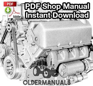 Cummins V6-140, V8-185 Diesel Engine Shop Manual PDF Download