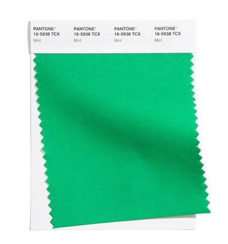 Pantone Color Swatch Mint