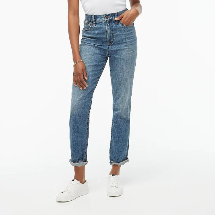 Summer Outfits - J. Crew Straight Cut Jeans