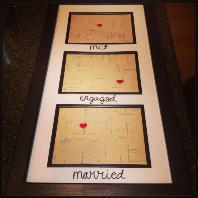 a wedding gift from