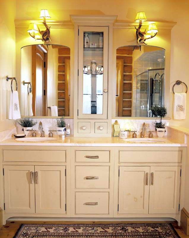 Bath Cabinets As Vanity And Functional Bathroom Elements