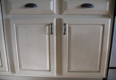 Diy Painting Kitchen Cabinets Before After