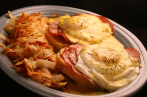 Ham and Eggs Benedict