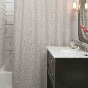 Starfish Lace Shower Curtain