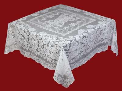 Nottingham Cotton Lace Tablecloth Melrose