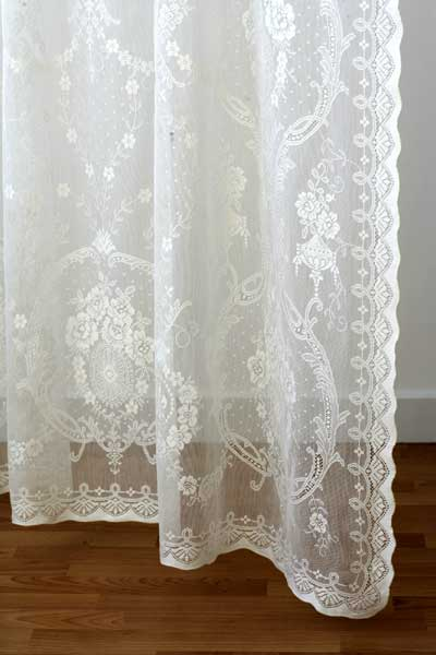 Cotton Lace Curtains from Scotland  Ready Made and Custom