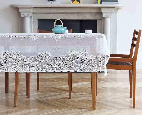 fancy lace tablecloth - elgin