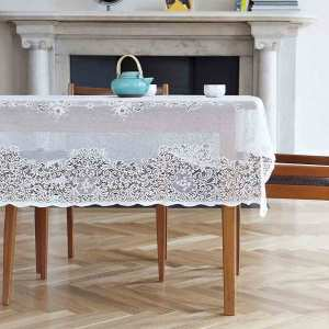 fancy lace tablecloth - elgin