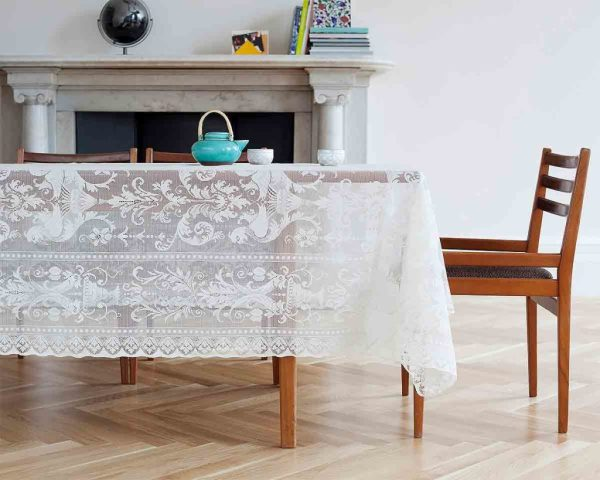 formal lace tablecloth - griffin