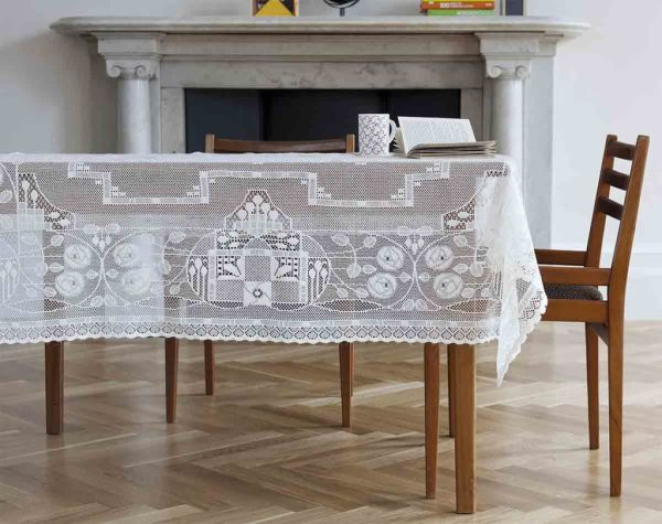 elegant lace tablecloth - rennie