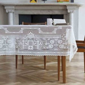 elegant lace tablecloth - rennie