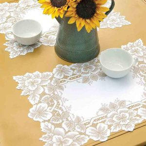 Formal Lace Placemats - Heirloom