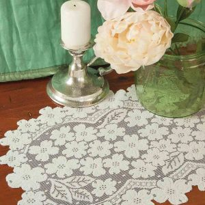 Lace Placemats - Dogwood
