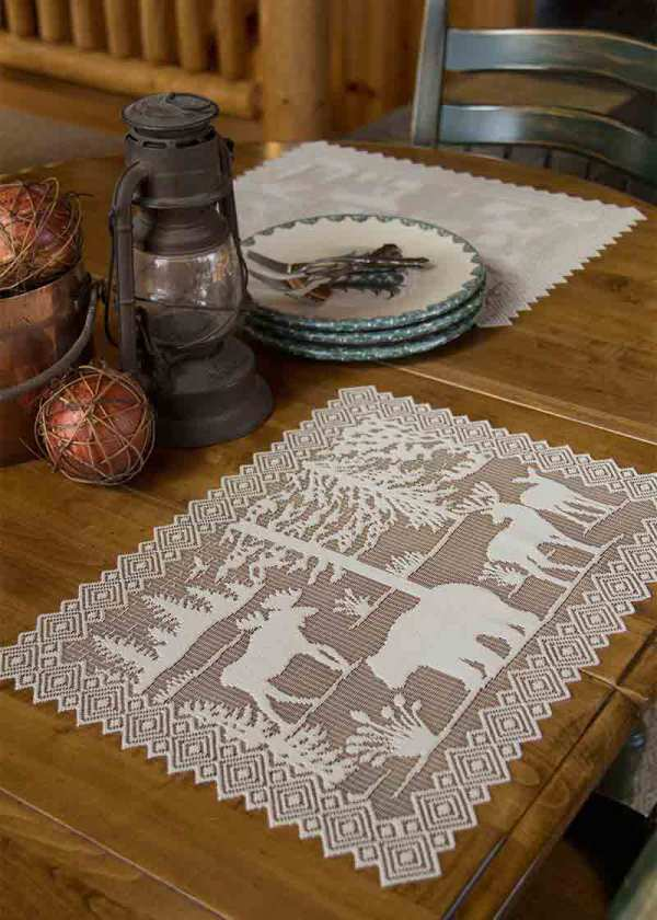 Lace Placemats - Lodge Hollow