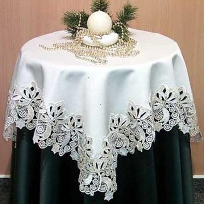 shayla - ornate lace tablecloths