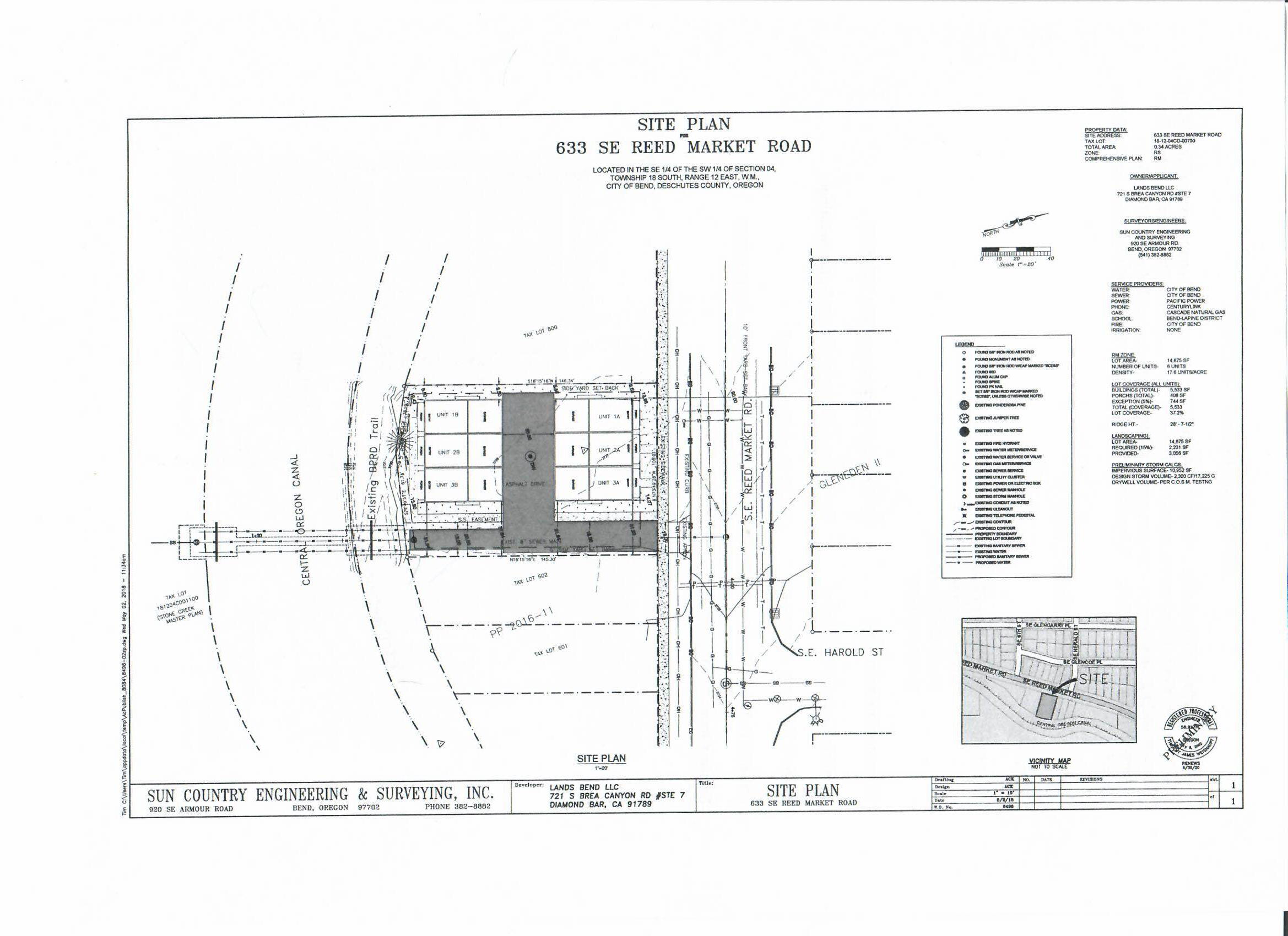 6 Units Proposed For 633 Reed Market Rd