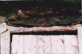 Rotten wood and stone