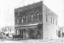 Second Drug Store (McHenry House behind left)
