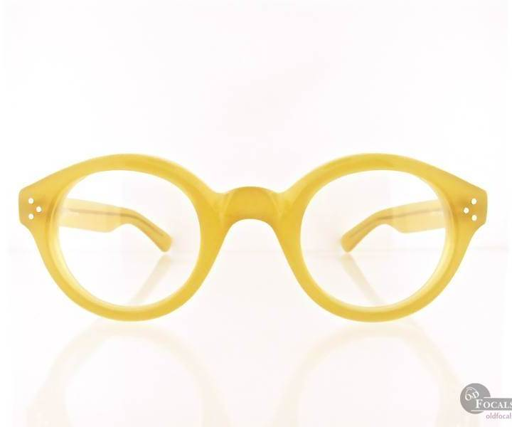 Architect - Old Focals Collector's Choice Eyewear - Butterscotch 01